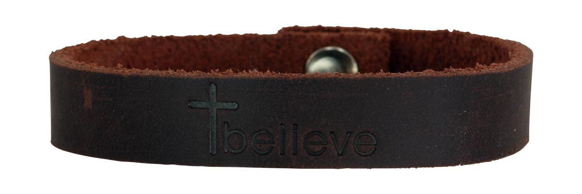 Brown Believe bracelet