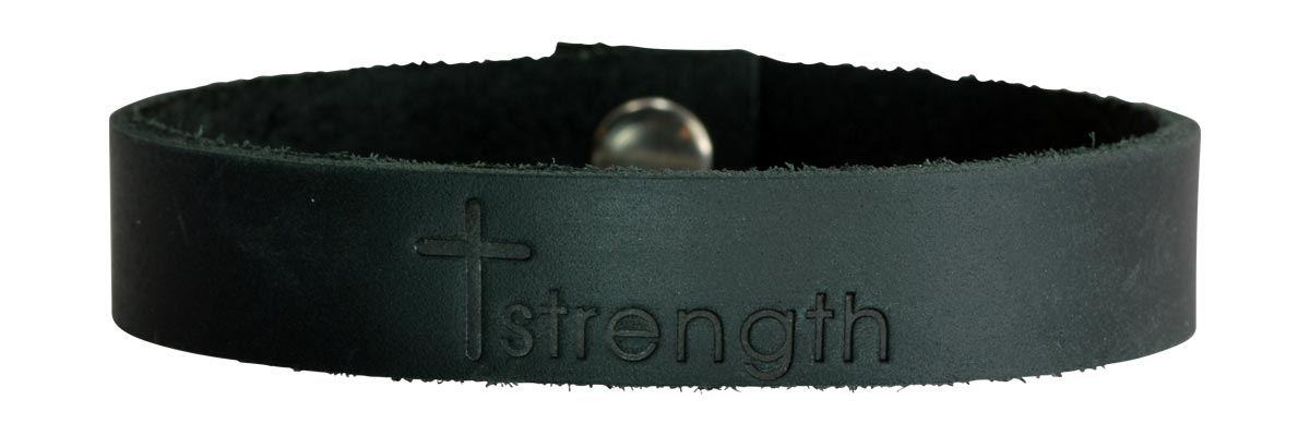 Black Strength bracelet