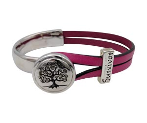 Tree of Life half cuff with a silver Survivor slider