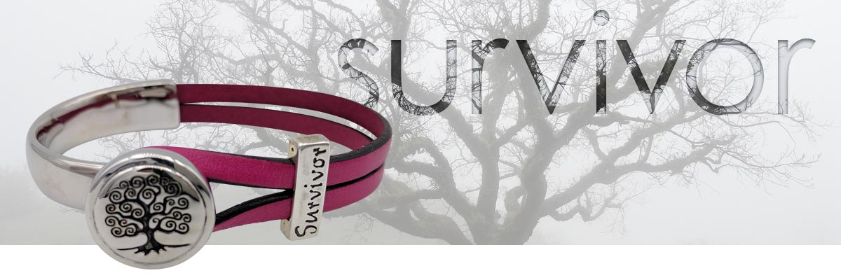 survivor leather bracelet